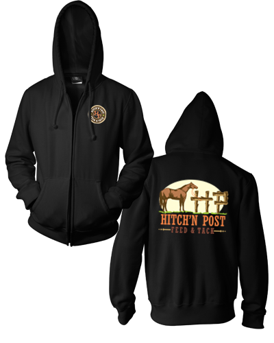 Hitch'n Post - Zip Hoody