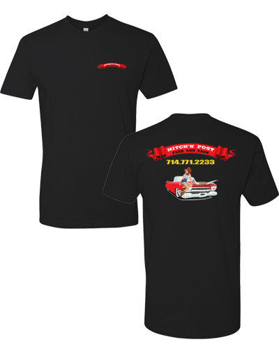 Hitch'n Post - Black Hot Rod Tee