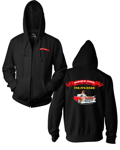 Hitch'n Post - Hot Rod Zip Hoodie
