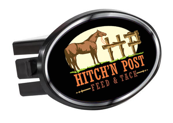 Hitch'n Post - Plastic trailer Hitch cover