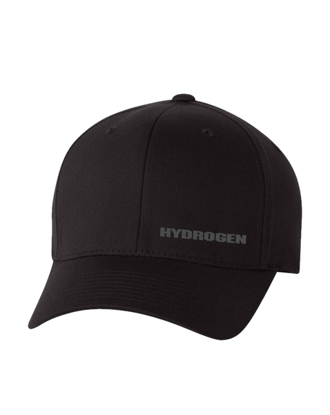 Hydrogen - Logo (Left) Flexfit Hat