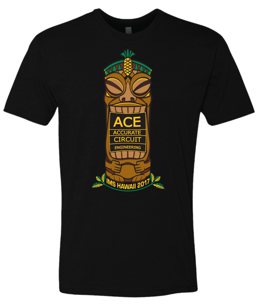 Accurate Circuit - Hawaii Tiki Tshirt