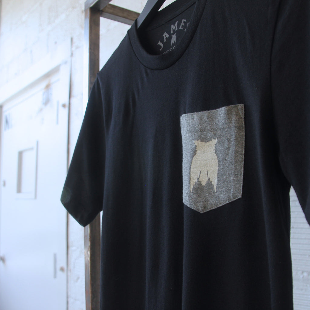 Owl Pocket Tee