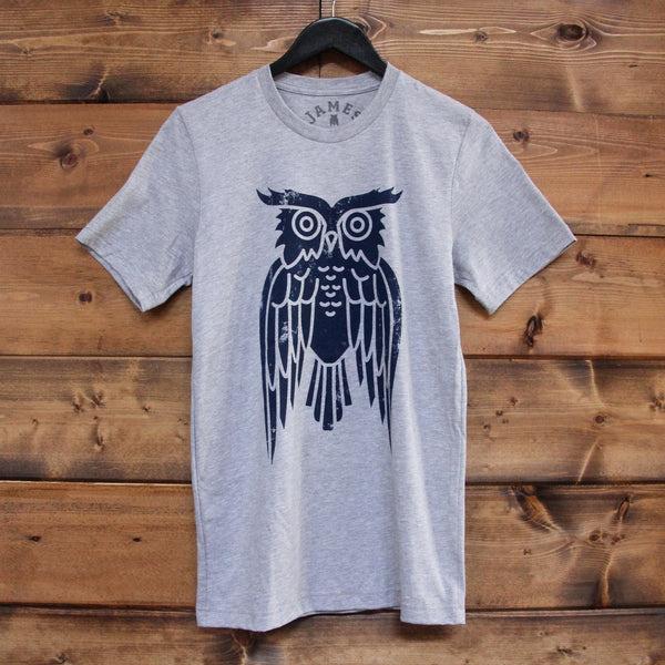 Navy Owl T-Shirt