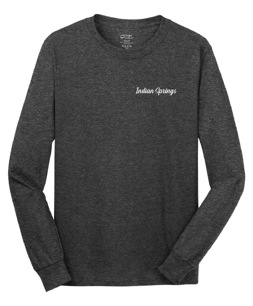 Indian Springs - Mens - Port & Company® - Long Sleeve Core Cotton Tee