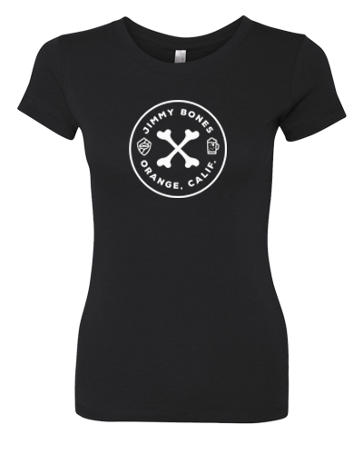 JIMMY BONES - Logo Tee (Womens)