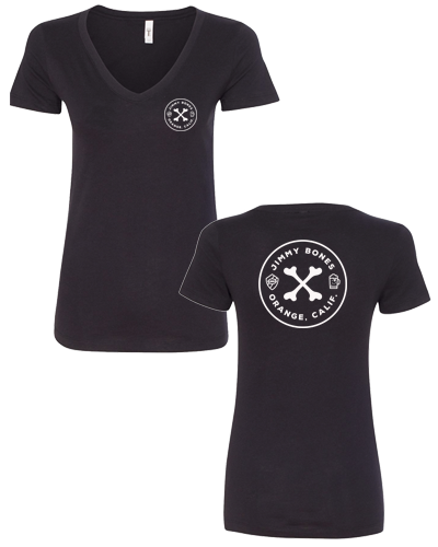 JIMMY BONES - Logo V-Neck (Womens)