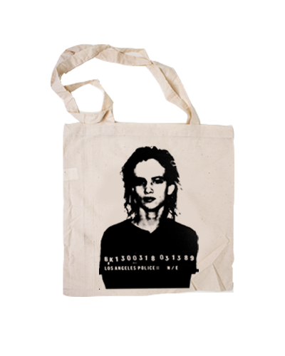 JL - Mugshot Tote Bag (Natural)
