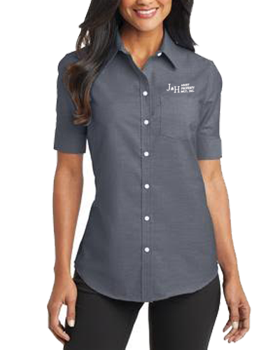 J&H Women's Oxford Shirt