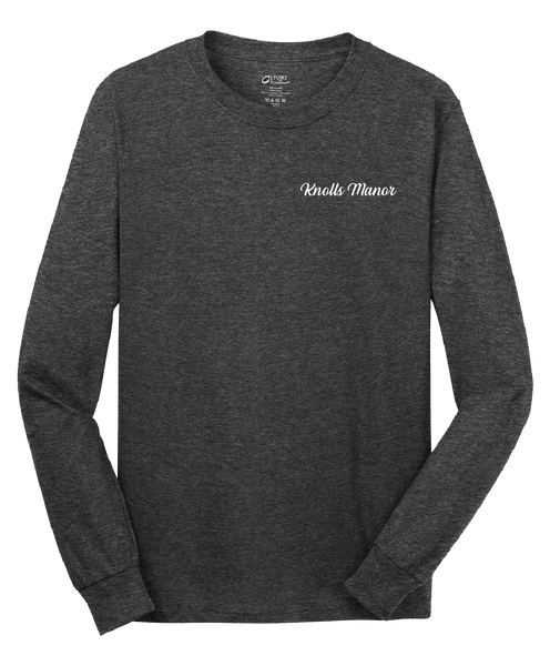 Knolls Manor  - Mens - Port & Company® - Long Sleeve Core Cotton Tee