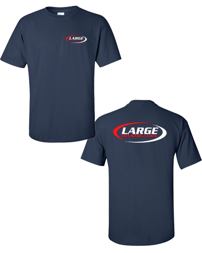 Large Construction - Men's Tee