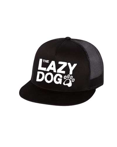 Lazy Dog - Text Mesh Snapback