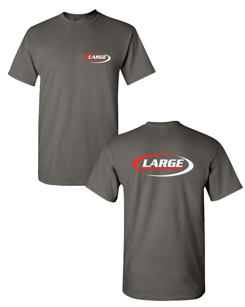 Large Construction - LIGHTWEIGHT Men's Tee (Charcoal)