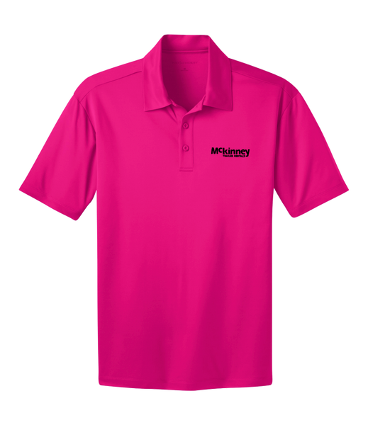 Mckinney - Men's Port Authority Performance Polo (Pink)