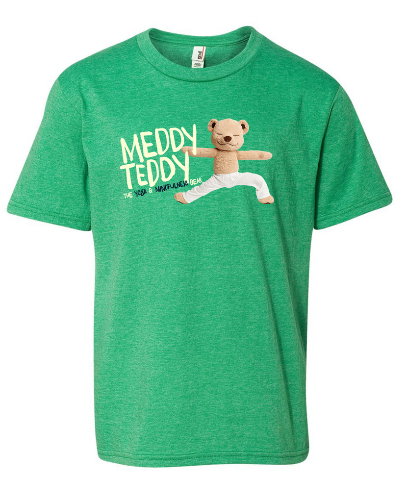 Meddy Teddy - Adult Tee (Green)