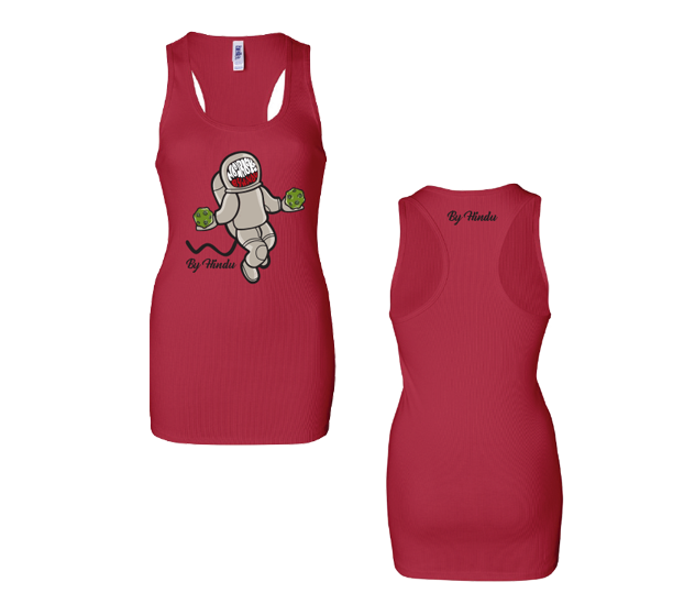 Metro Meds - Logo Tank (Red)