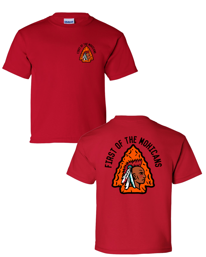 Mohican Tribe - Youth Red Shirt (6 color)
