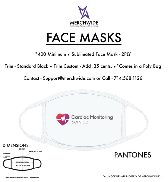 CMS - Sublimated FaceMask - Full Color V2