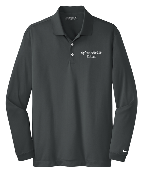 Sylvan Mobile Estates - Mens - Nike Long Sleeve Dri-FIT Stretch Tech Polo