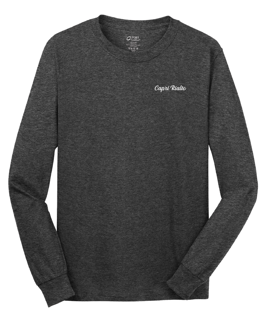 Capri Rialto - Mens - Port & Company® - Long Sleeve Core Cotton Tee
