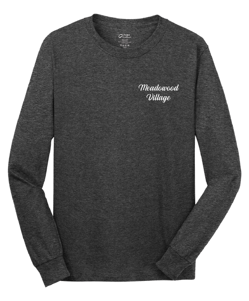 Meadowood Village - Mens - Port & Company® - Long Sleeve Core Cotton Tee
