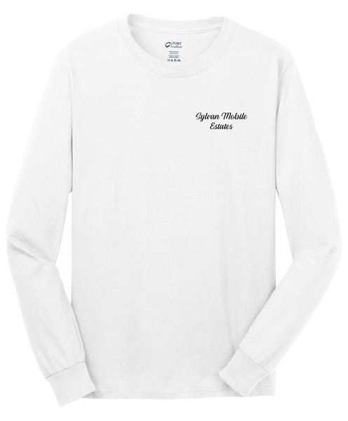 Sylvan Mobile Estates - Mens - Port & Company® - Long Sleeve Core Cotton Tee