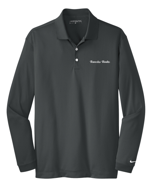 Rancho Rialto - Mens - Nike Long Sleeve Dri-FIT Stretch Tech Polo