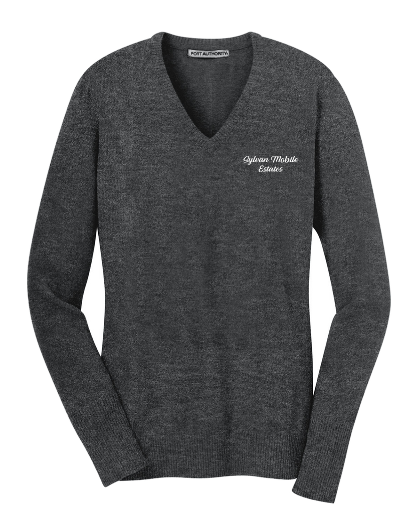Sylvan Mobile Estates - Port Authority® Ladies V-Neck Sweater