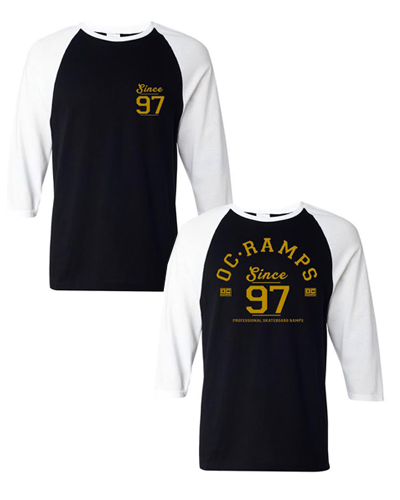 Since 97 Raglan (Black)