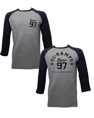 Since 97 Raglan (Heather)