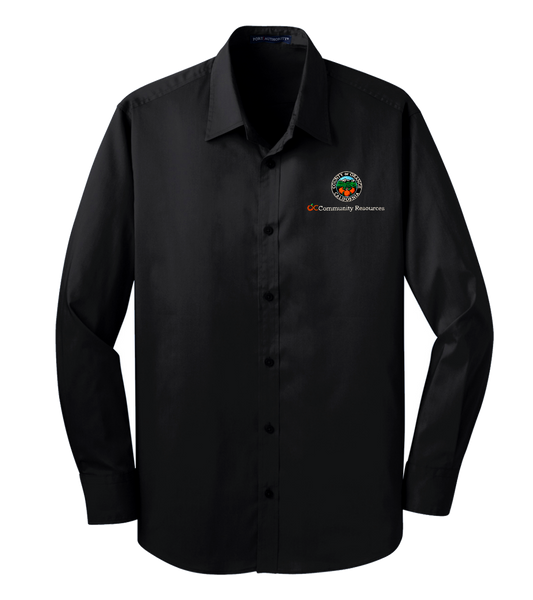 Mens Port Authority® Stretch Poplin Shirt