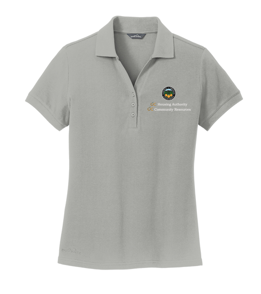 Ladies Eddie Bauer® Cotton Pique Polo (OCHA)