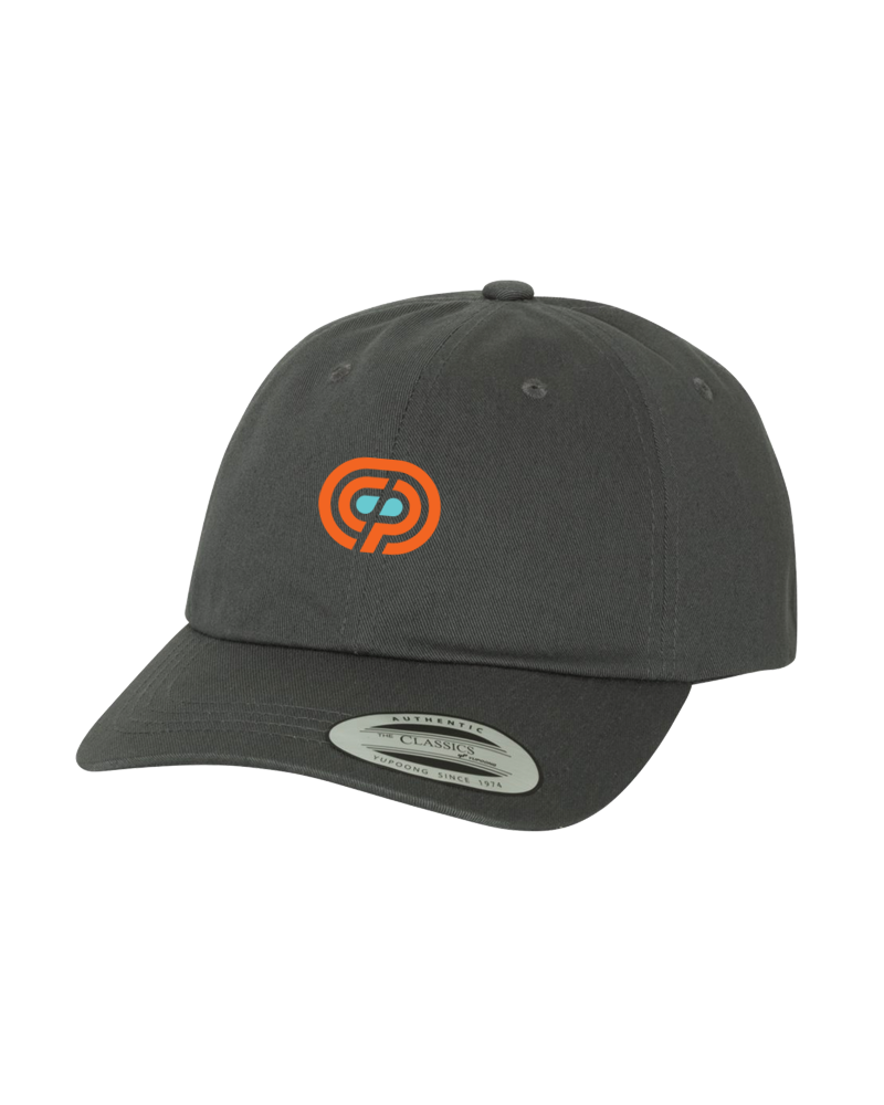 OCP -  EMBROIDERED DAD HAT (DARK GREY)
