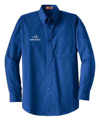 Pacific Medtechs - SP17 CornerStone® - Long Sleeve SuperPro™ Twill Shirt