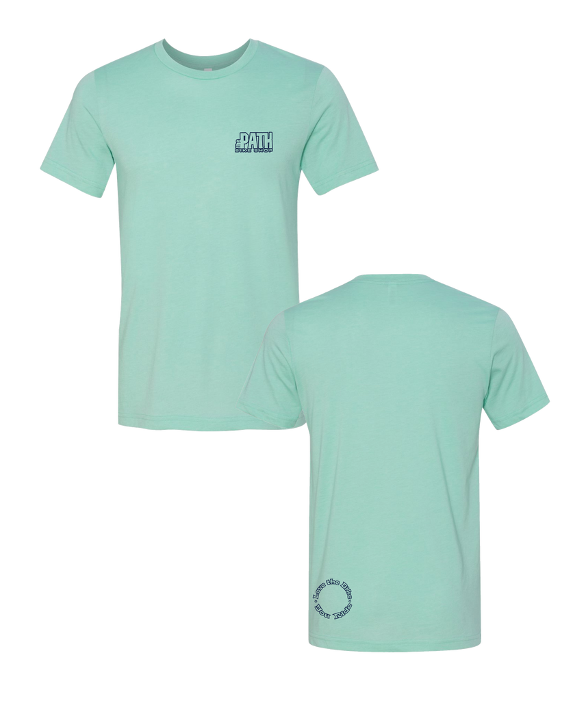 The Path - Logo Tee CVC Heather Mint