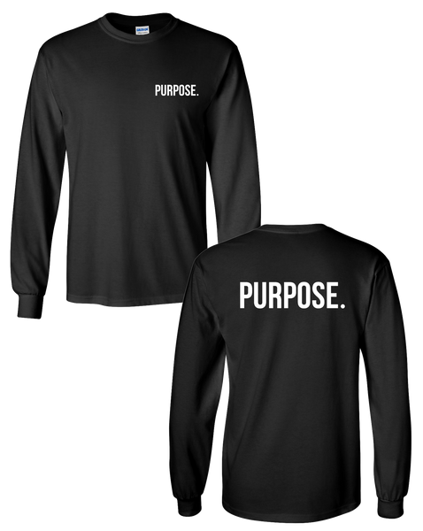 Purpose - Left Chest & Back Logo Longsleeve