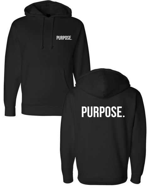 Purpose - Left Chest & Back Logo Hoodie