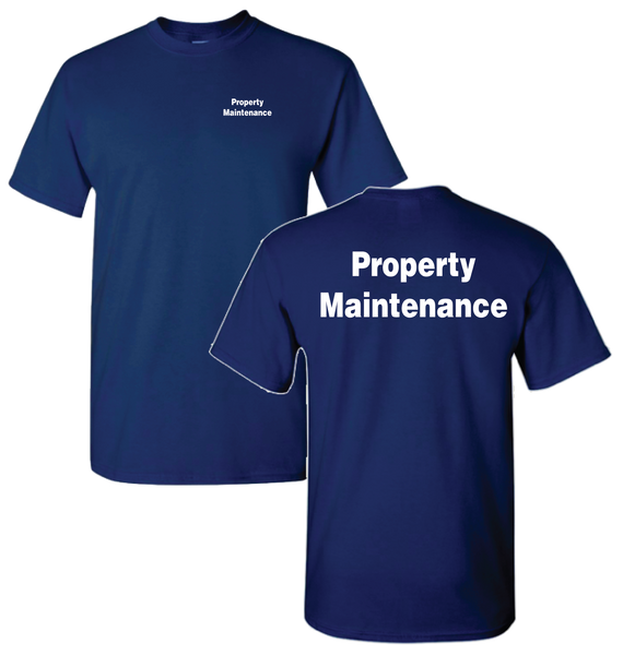 J&H - Property Maintenance (tee)