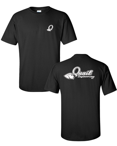 Quail Engineering - Black Tee