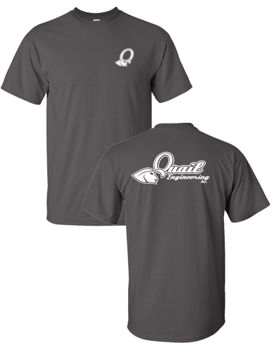 Quail Engineering - Charcoal Tee