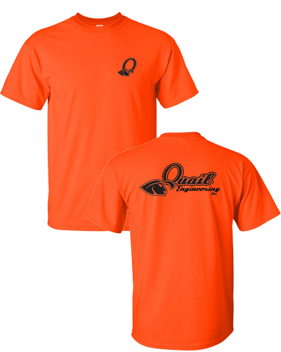Quail Engineering - Orange Tee