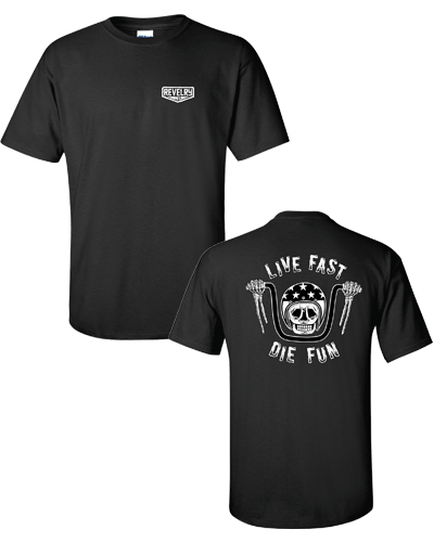 Revelry - Live Fast Tee (Black)
