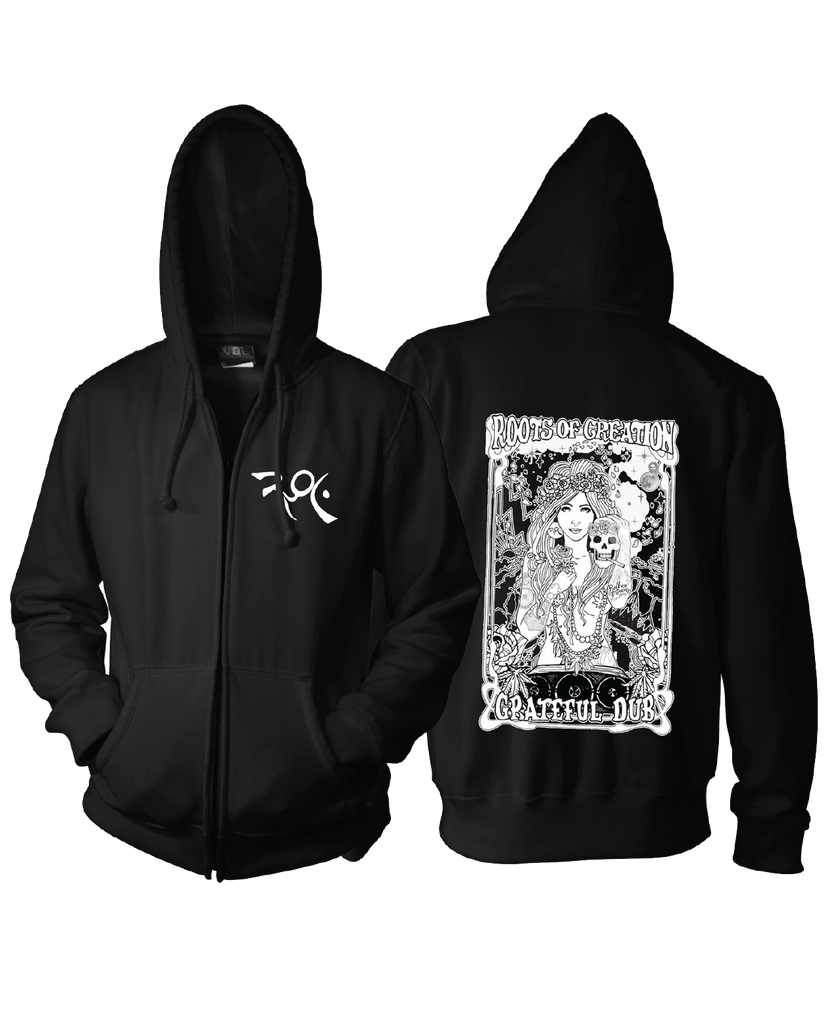 Roots of Creation - Grateful Dub Girl Hoodie