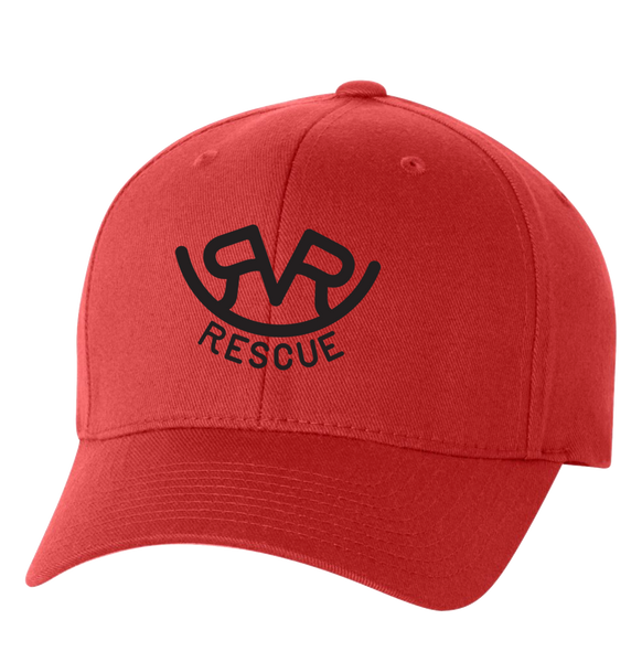 Hitch'n Post - Ranch Rescue Logo Dad Hat (Red)