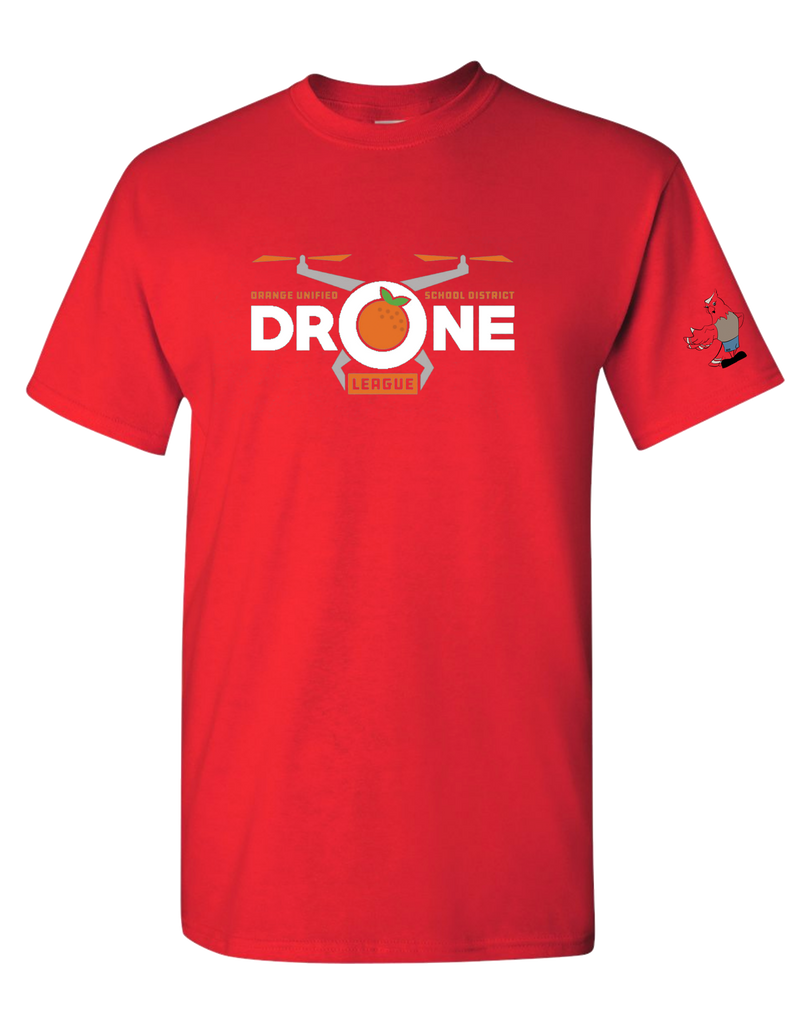 Running Springs - Drone league T-shirt (Red)