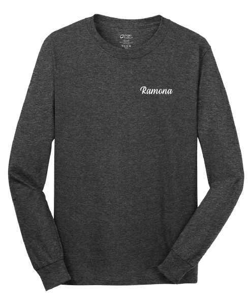 Ramona - Mens - Port & Company® - Long Sleeve Core Cotton Tee