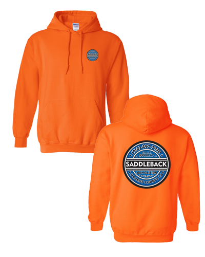 Saddleback Demo - Pullover Hoodie (Orange)