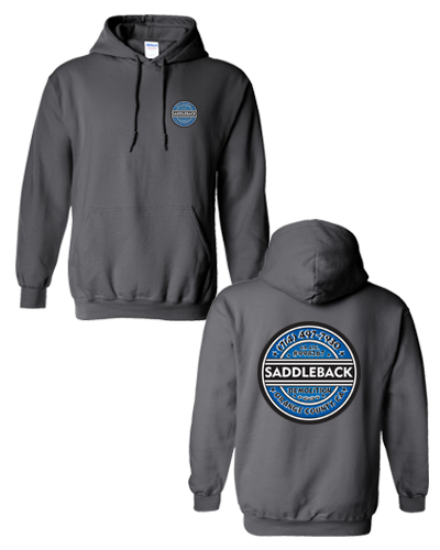 Saddleback Demo - Pullover Hoodie (Charcoal)