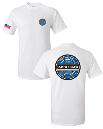 Saddleback Demo- Tee shirt (White) Gildan 2000