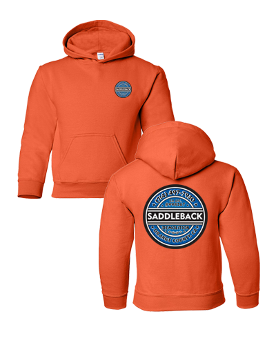 Saddleback Demo - Youth Hoodie (Orange)